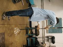 Glassblower.Info BCCC Glassblowing Class Photo 24-Apr-02 019 - Glassblower photo by Tony Patti