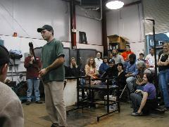 Glassblower.Info BCCC Glassblowing Class Photo 24-Apr-02 026 - Glassblower photo by Tony Patti
