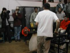 Glassblower.Info BCCC Glassblowing Class Photo 24-Apr-02 117 - Glassblower photo by Tony Patti