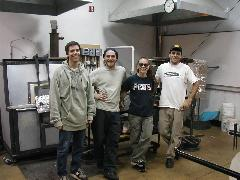 Glassblower.Info BCCC Glassblowing Class Photo 24-Apr-02 131 - Glassblower photo by Tony Patti