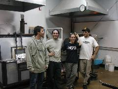 Glassblower.Info BCCC Glassblowing Class Photo 24-Apr-02 132 - Glassblower photo by Tony Patti