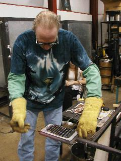 Glassblowing with Fused Cane 13