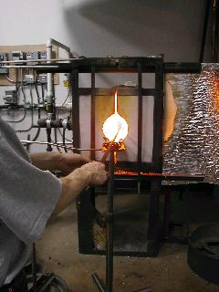 Glassblowing with Fused Cane 22
