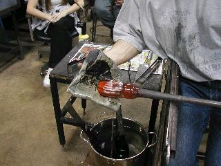 Glassblowing with Fused Cane 30