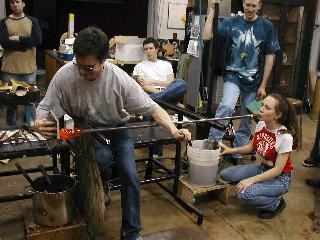 Glassblowing with Fused Cane 33