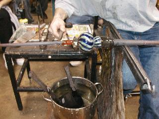 Glassblowing with Fused Cane 43