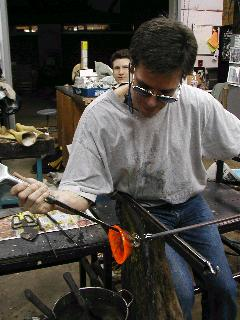 Glassblowing with Fused Cane 53
