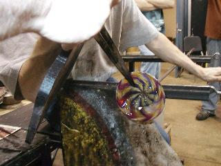 Glassblowing with Fused Cane 56