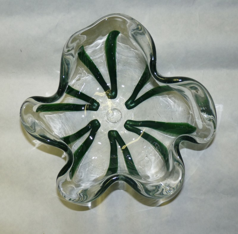 "Glassblower.Info - Combo Glassblowing Mold - ""V is for Victory"" - 5 sided"