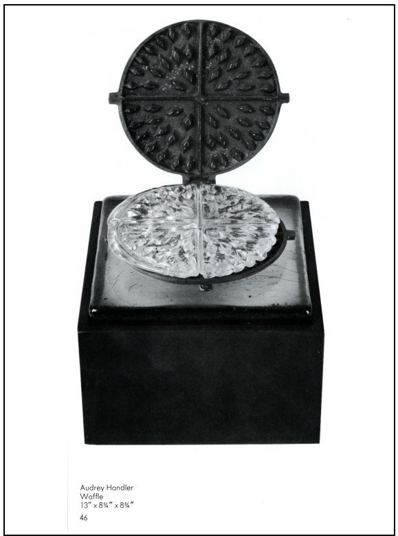 Audrey Handler - Glass Waffle - 1972 - American Glass Now - Toledo Museum of Art - PDF