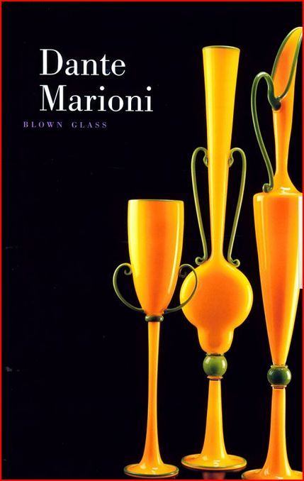 Glassblower.Info Amazon book Dante Marioni: Blown Glass by Tina Oldknow ISBN 1555952046
