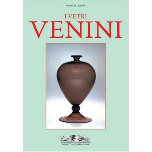 Glassblower.Info Amazon book Venini Glass (Vetri Venini) 2 Volumes by Franco Deboni ISBN 8842215244