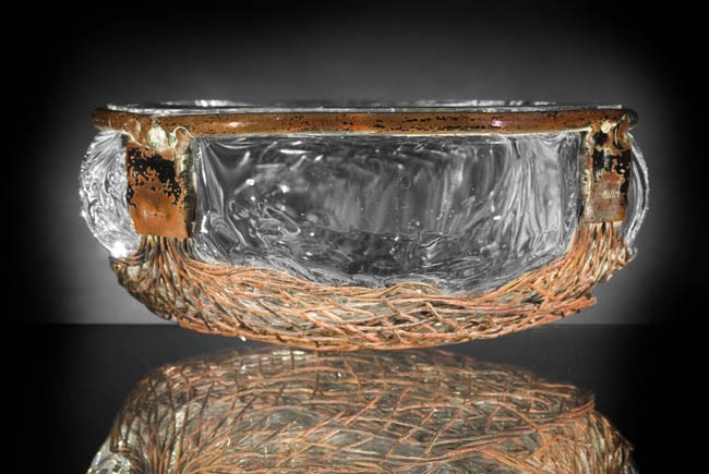 Glassblower.info - Josh Simpson Copper Basket