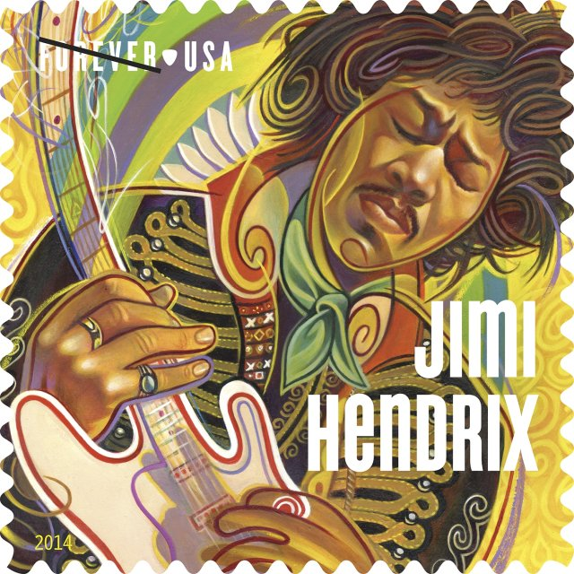 U.S. Postal Service Honors Legendary Guitarist, Jimi Hendrix, with Limited-Edition Forever Stamp on the SXSW Outdoor Stage at Butler Park