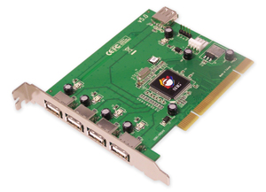 Siig USB 2.0 PCI Card JU-P50212-S5