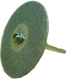 Glassblower.info - Diamond cut-off wheel for Dremel rotary tool