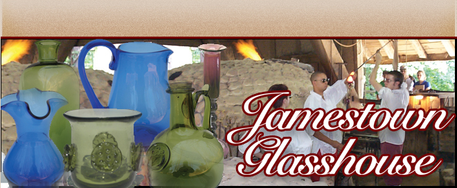 www.Glassblower.info image for Jamestown Glasshouse